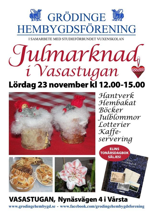 191123 GHF Julmarknad affisch 640