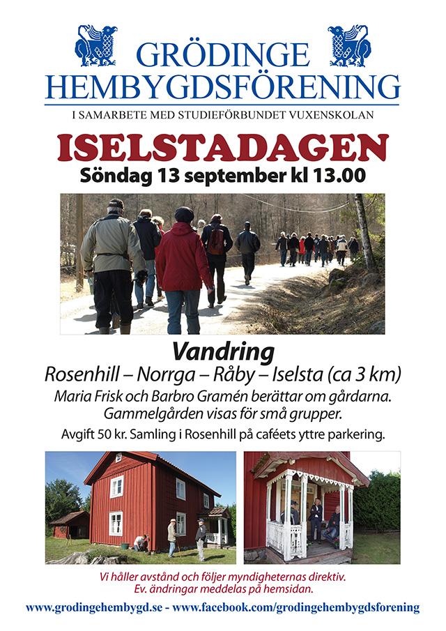200913 Affisch Iselstadagen 2020
